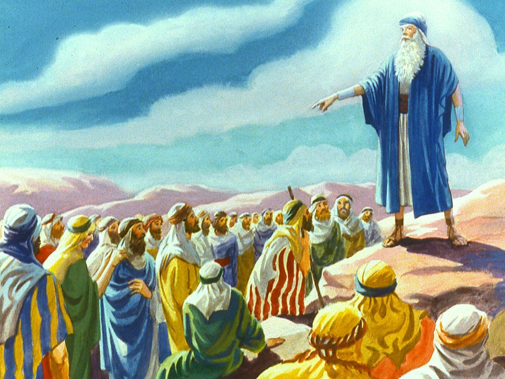 The calling of moses